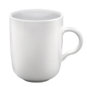Kahla P506195 Porcelain Mugs, Set of 2, Dishwasher and Microwave Safe, Stackable Design for Easy Storage