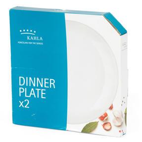 Kahla P506188 Dinner Plates, Set of 2, 26 cm, Dishwasher and Microwave Safe, Stackable Design for Easy Storage, Ideal for Meals, Snacks, Fruit Thumbnail 3