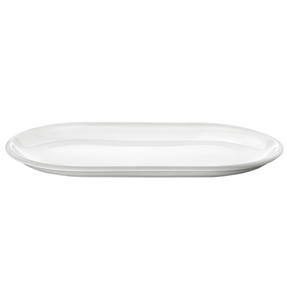 Kahla P506193 Dinnerware Large Oval Serving Plate, 31 cm, Dishwasher and Microwave Safe, Ideal for Serving Snacks, Cheese, Meat