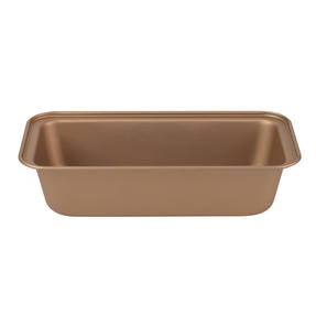 Russell Hobbs RH02147GEU7 Opulence 28 cm Carbon Steel Loaf Tin, Non-Stick Surface, Easy Clean, Stylish Design, Gold