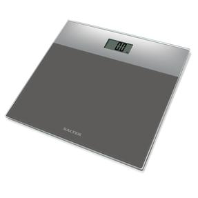 Salter Glass Electronic Bathroom Scale - Silver