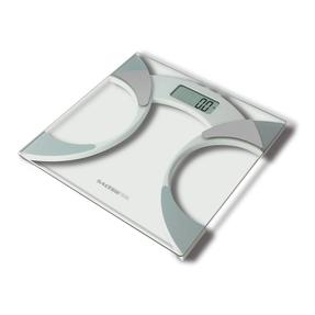 Salter Ultra Slim Glass Analyser Body Fat Scales - White