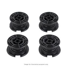 Salter Bathroom Scale Black Carpet Feet - 9068