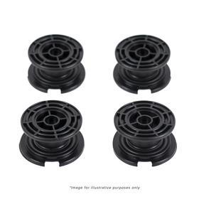 Salter Bathroom Scale Black Carpet Feet - 9028