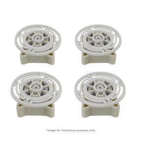Salter Bathroom Scale White Carpet Feet - 9153/ 9124/ 9134/ 9194/ 9103/ 9107/ 9009/ 9079/ 9089/ 9091/ 9152/ 9074