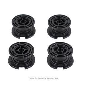 Salter Bathroom Scale Black Carpet Feet - 9224 BK3R