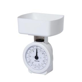 Salter Compact Mechanical Kitchen Scales - White