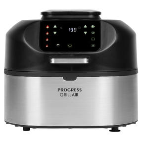 Salter EK4549 Aero Grill Pro Air Fryer and Grill, 1750 W, 6 Litre Capacity, LED Digital Display, 5 Cooking Functions, Grill, Air Fry, Roast, Bake and Dehydrate