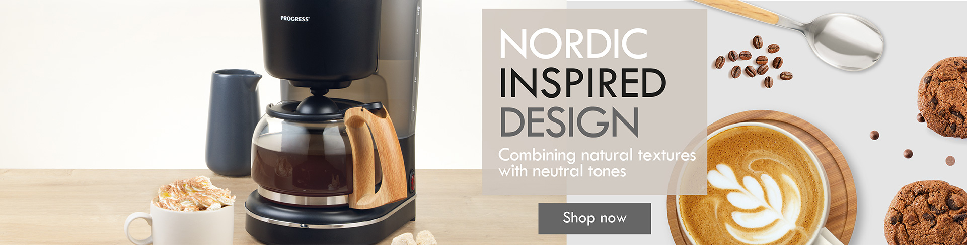 Progress Scandi coffee maker