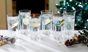 Crystal Provena Long Drink Glass Thumbnail 1
