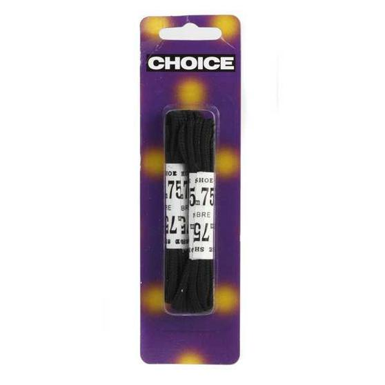 Black Shoe Laces - Twin Pack by Choice