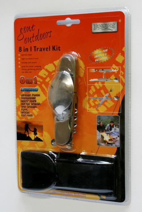 8 in 1 Travel Kit by Boyz Toys