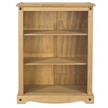 Corona Pine Home Living Room Furniture Low 2 Shelf Bookcase Storage Unit Cp Ebay