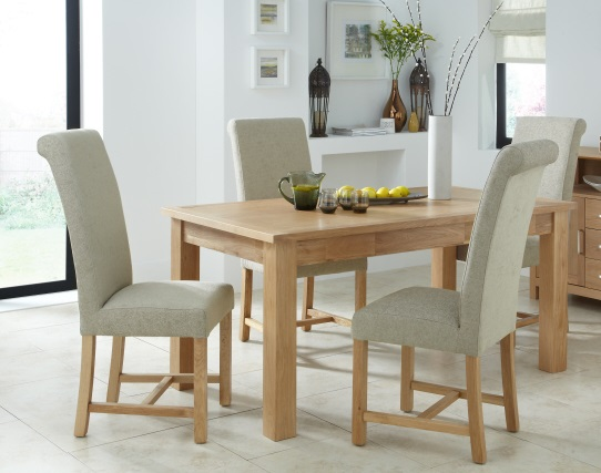 Greenwich Various Colours Dining Room Chairs X2 Oak Legs