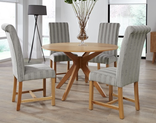Greenwich Various Colours Dining Room Chairs X2 Oak Legs Product Description