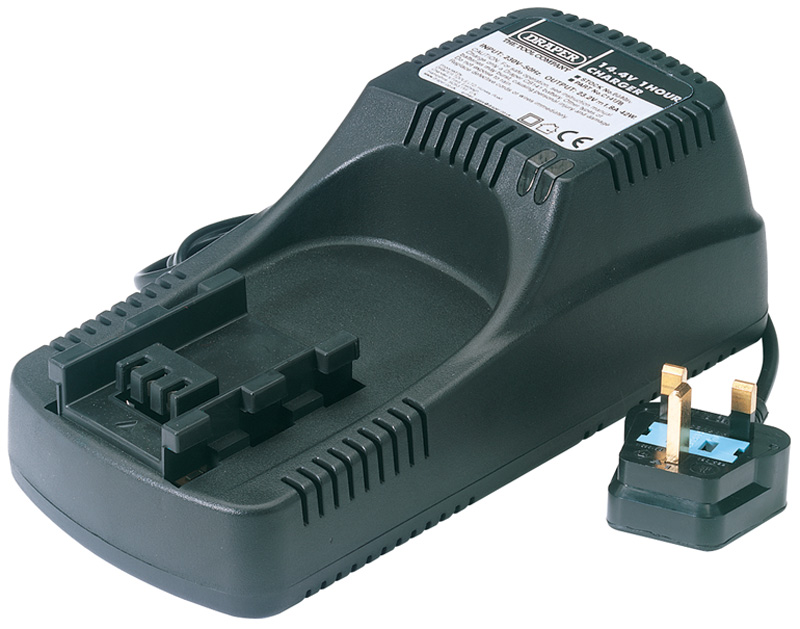 83688 DRAPER Expert 18V Universal Battery Charger for Li-Ion /& Ni-Cd Batt Packs