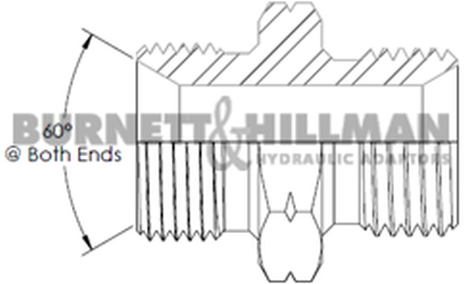 Burnett /& Hillman Hydraulic METRIC M22 LOCKNUT by 1.5mm Pitch00295