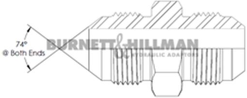 Night /& Hillman JIC Crimp Tuerca ajuste hidráulico