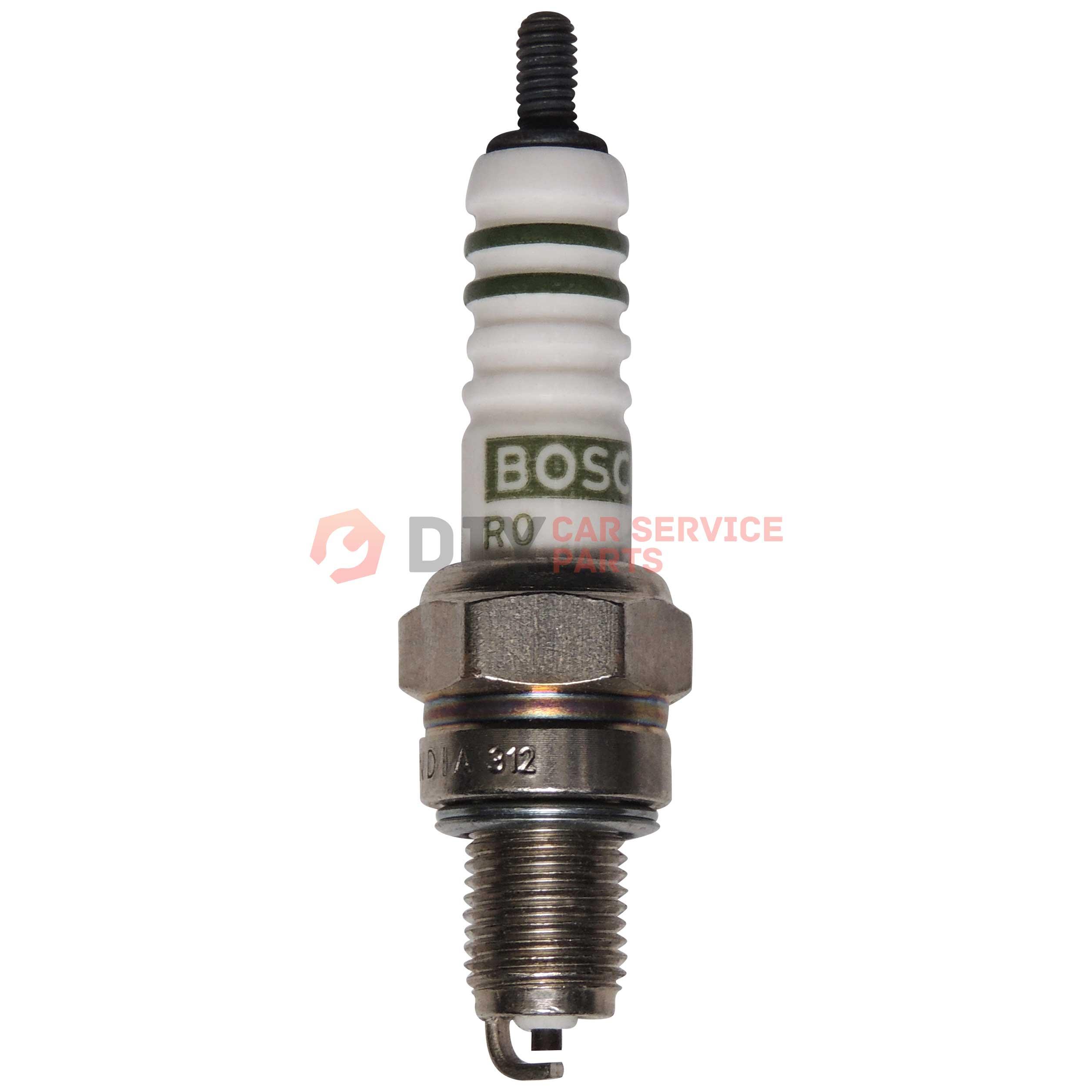 Genuine OE BOSCH 0242240627 FR6KPP332S DOUBLE PLATINUM Spark Plug 10 Pack