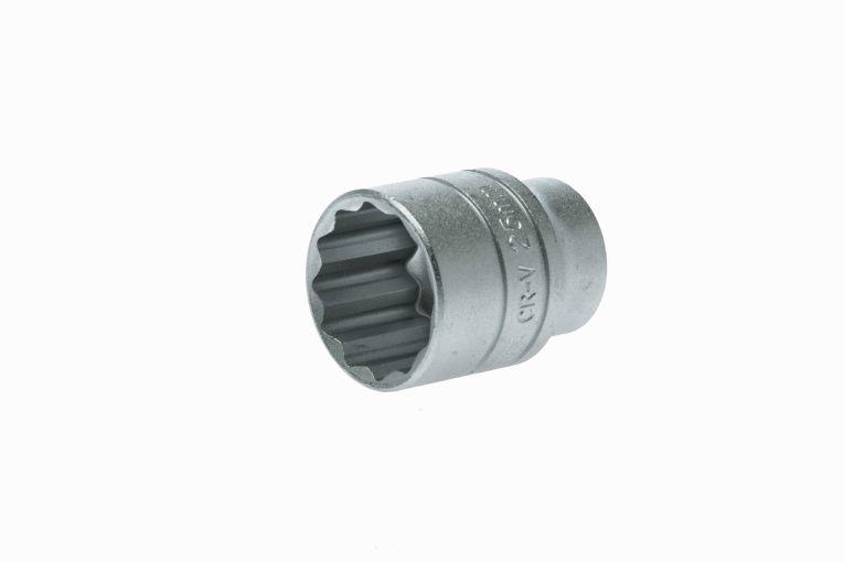 "12pt Deep Metric 20mm Socket Chrome Vanadium Teng Tools M120620-C1//2/"" Drive"