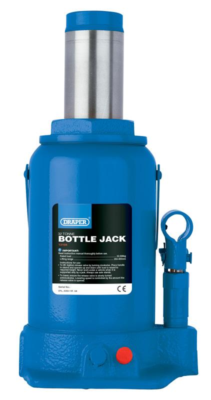 Draper 13070 Hydraulic Bottle Jack 8Tonne