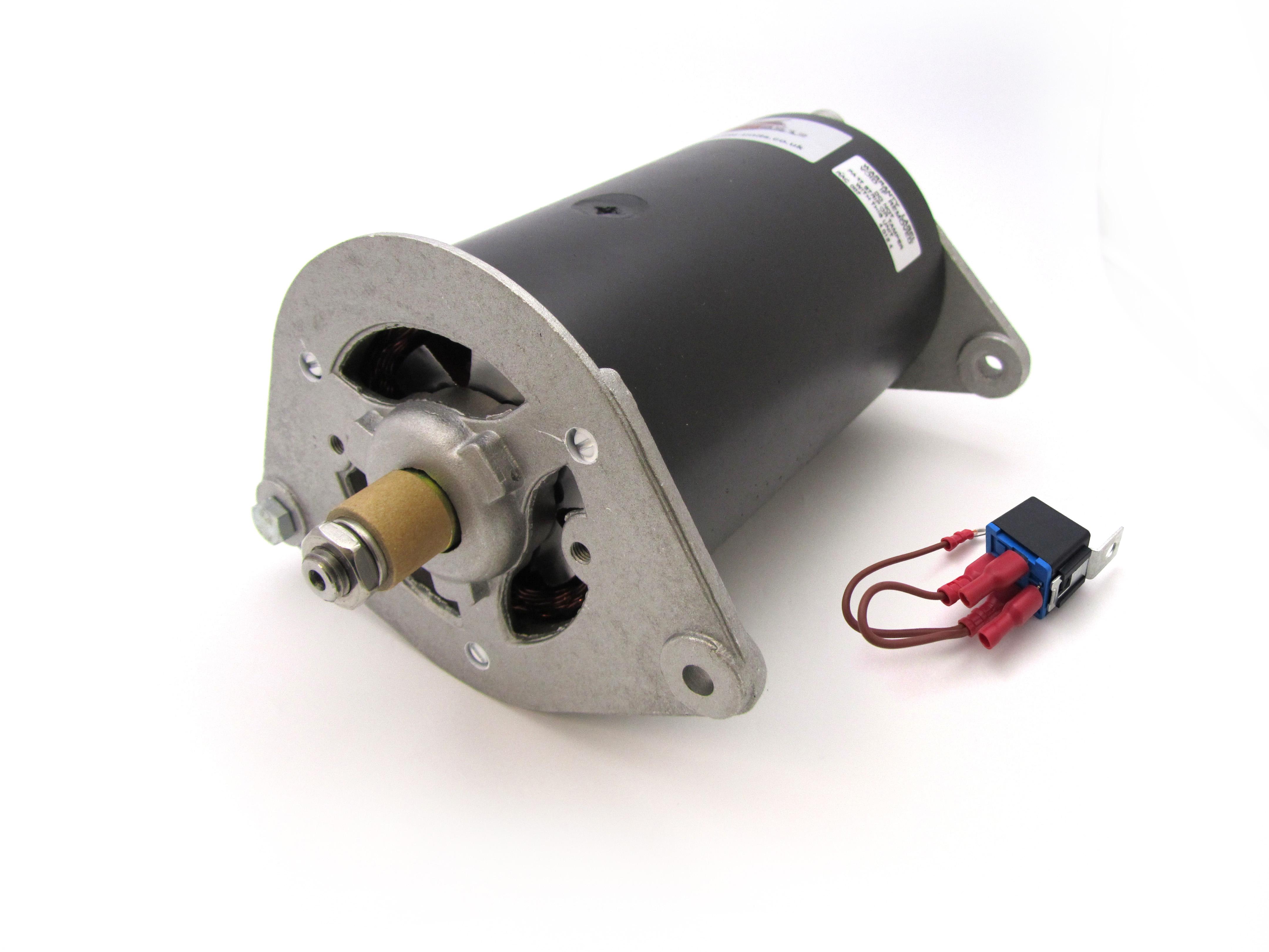 Positif Terre Dynamator Alternateur Dynamo Conversion remplace Lucas C39 C40