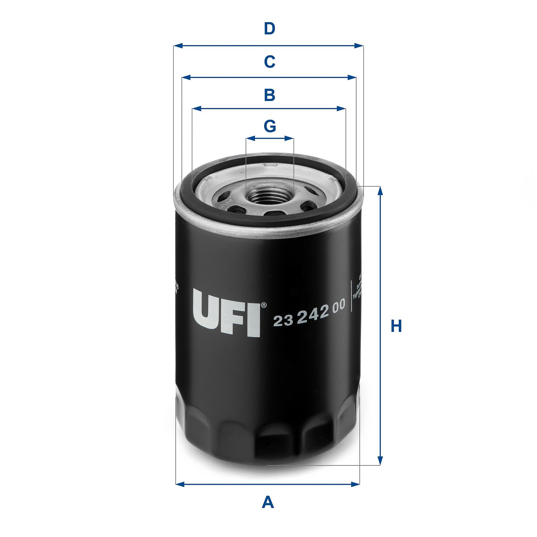 Ufi Filters 24.360.00 Dieselfilter