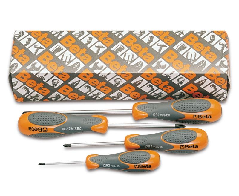 Beta Tools 1292 Inox-Screwdriver Cross Head Phillips Screws St.Steel 0X3X60