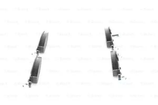 BP929 Disc Brake Front Axle Break Pad Set Replace 04465 0D040 Bosch 0986424788