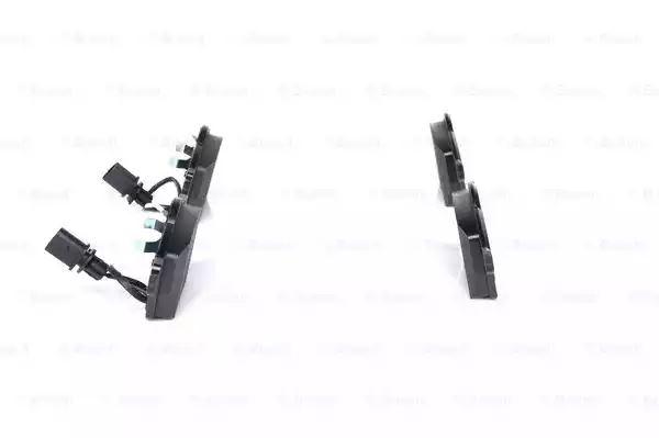 Bosch Plaquette De Frein Avec warnkontakt pour essieu avant 0986494050 Audi