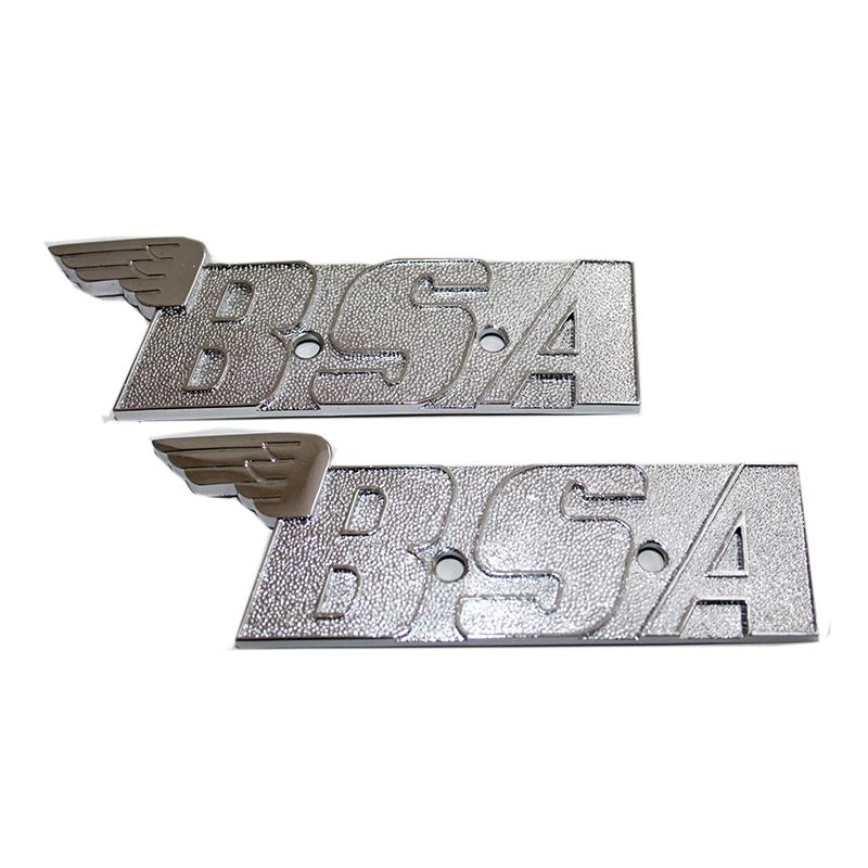 gs29118 - Par BSA Aceite En Marco A65/A70 METAL CON ALAS DEPÓSITO ...