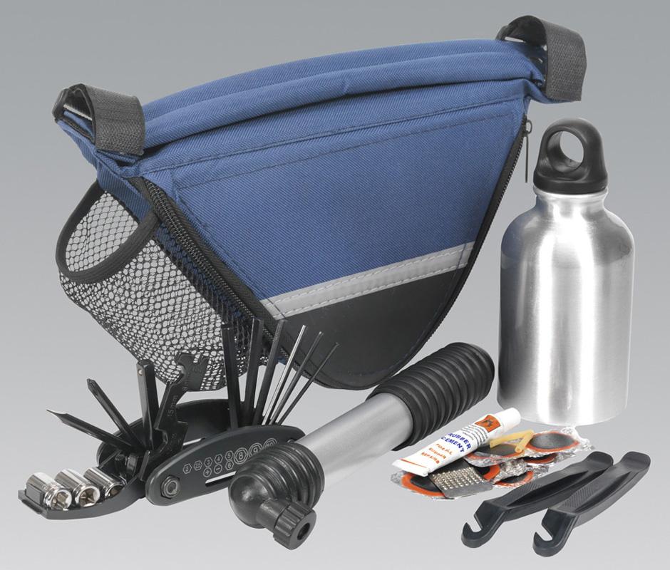 sealey bc211 reparatur set mit rahmen tasche fahrrad ebay. Black Bedroom Furniture Sets. Home Design Ideas