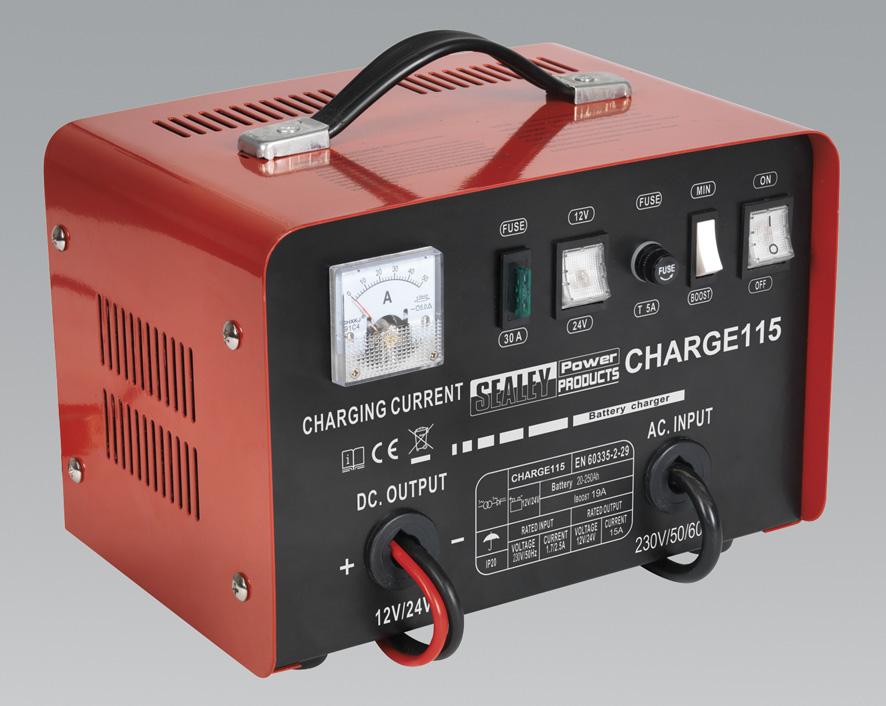 Battery Charger 8Amp 1224V 230V