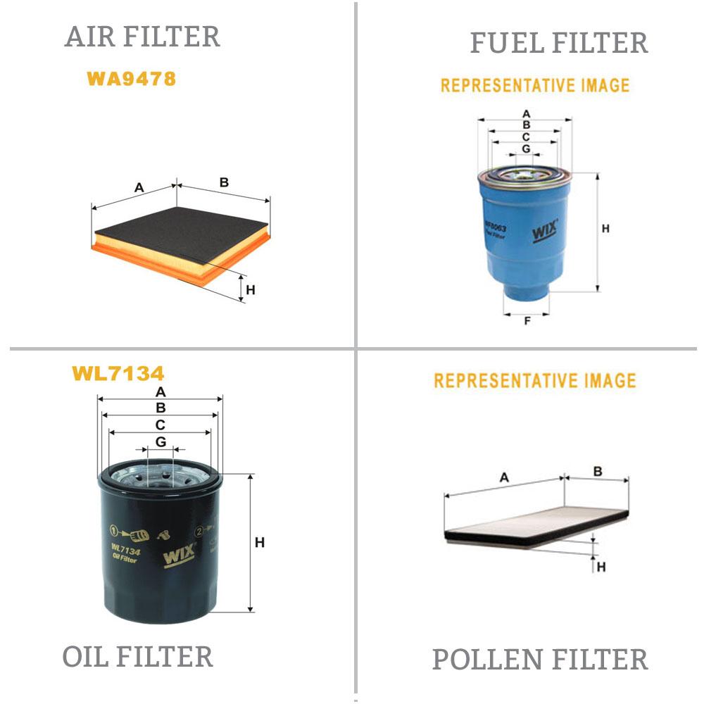 MAPCO Air Filter 60507