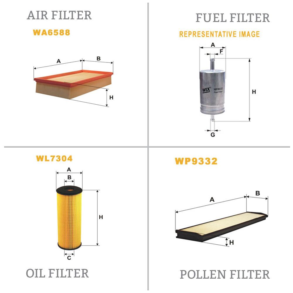 Wix Filter WF8040 Fuel Filter