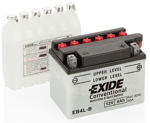 exide motorbike motorcycle conventional battery 12v 4ah. Black Bedroom Furniture Sets. Home Design Ideas