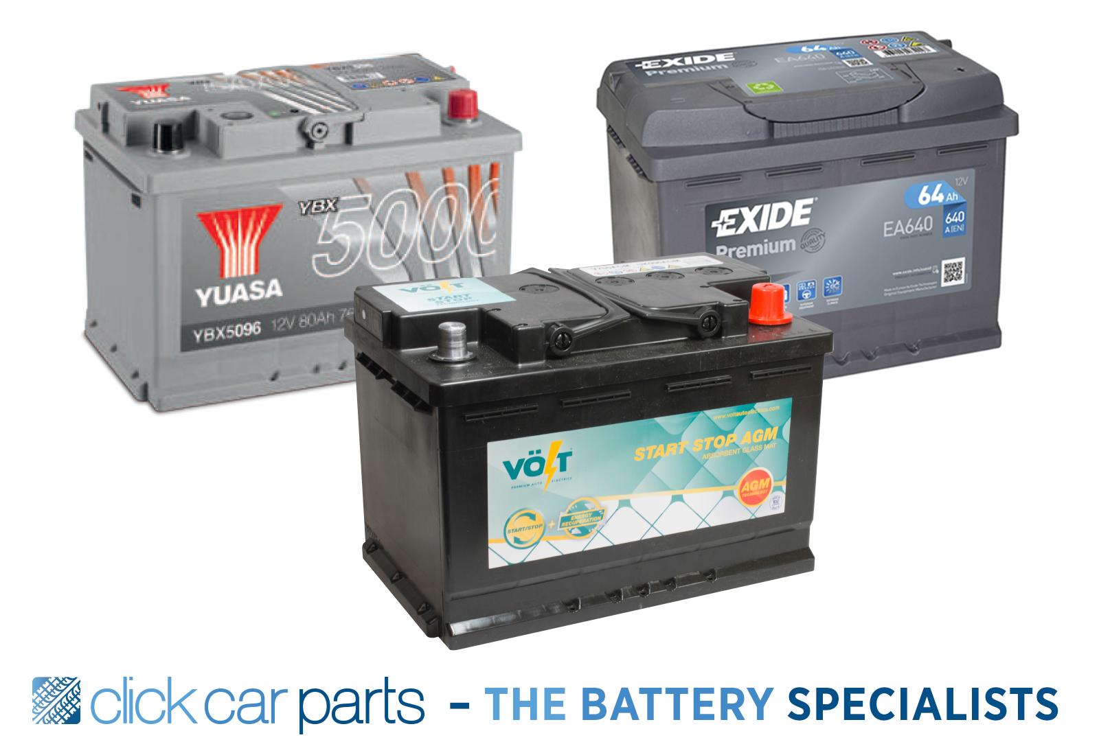 EA530 YBX5012 PREMIUM 12v Type 079 Car Battery