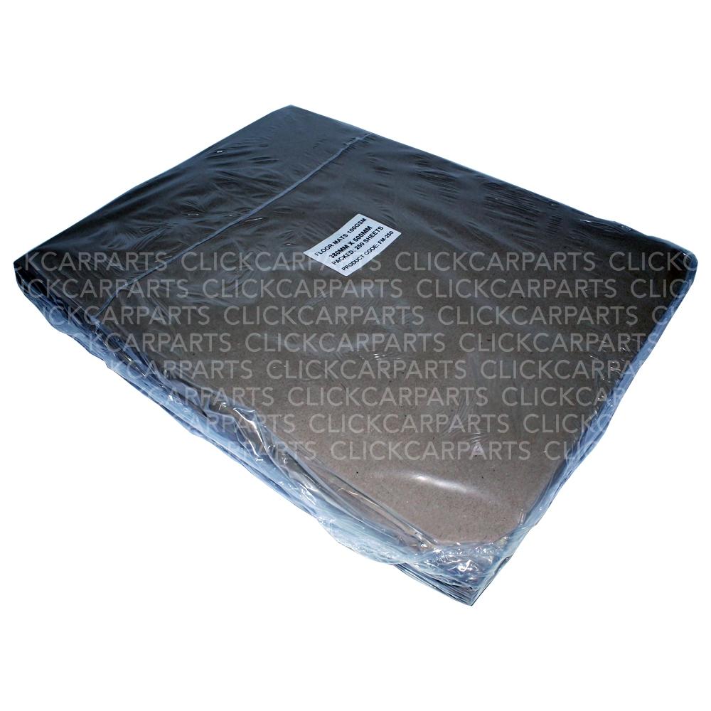 250 Brown Paper Floor Mats For Bodyshop Valeting Car