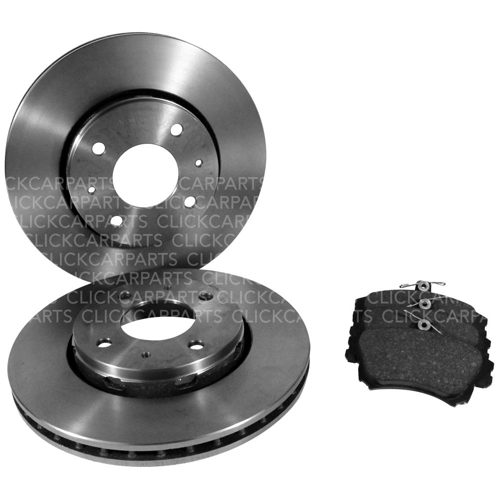 Volvo S60 2.4D5 08//01-12//08 Front Brake Discs+Pads