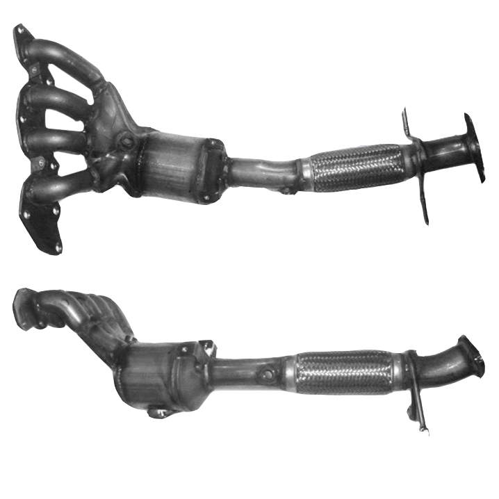 Ford Cmax Catalytic Converter Exhaust 91560h 18 2200712010: 2010 Ford Focus Catalytic Converter At Woreks.co