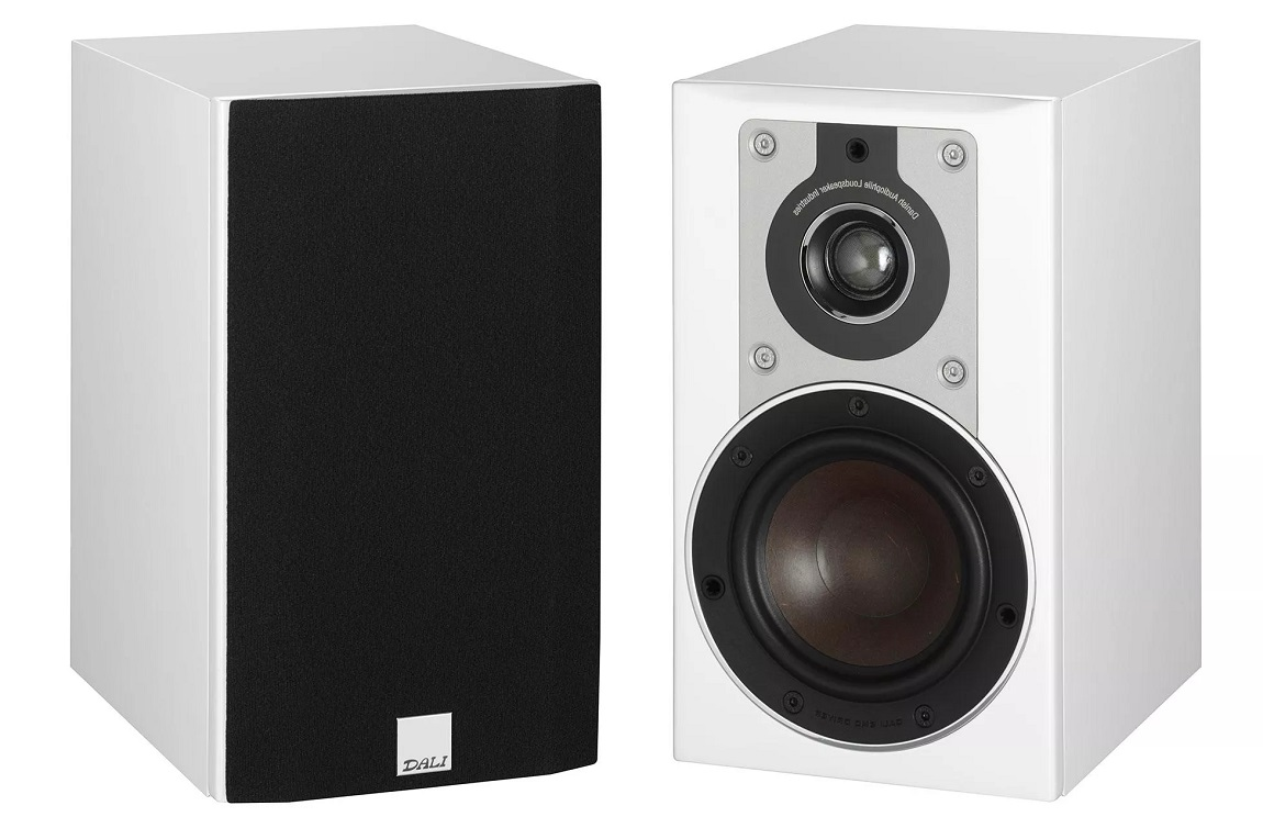 Dali Opticon 1 100W Bookshelf Speakers Per Pair White
