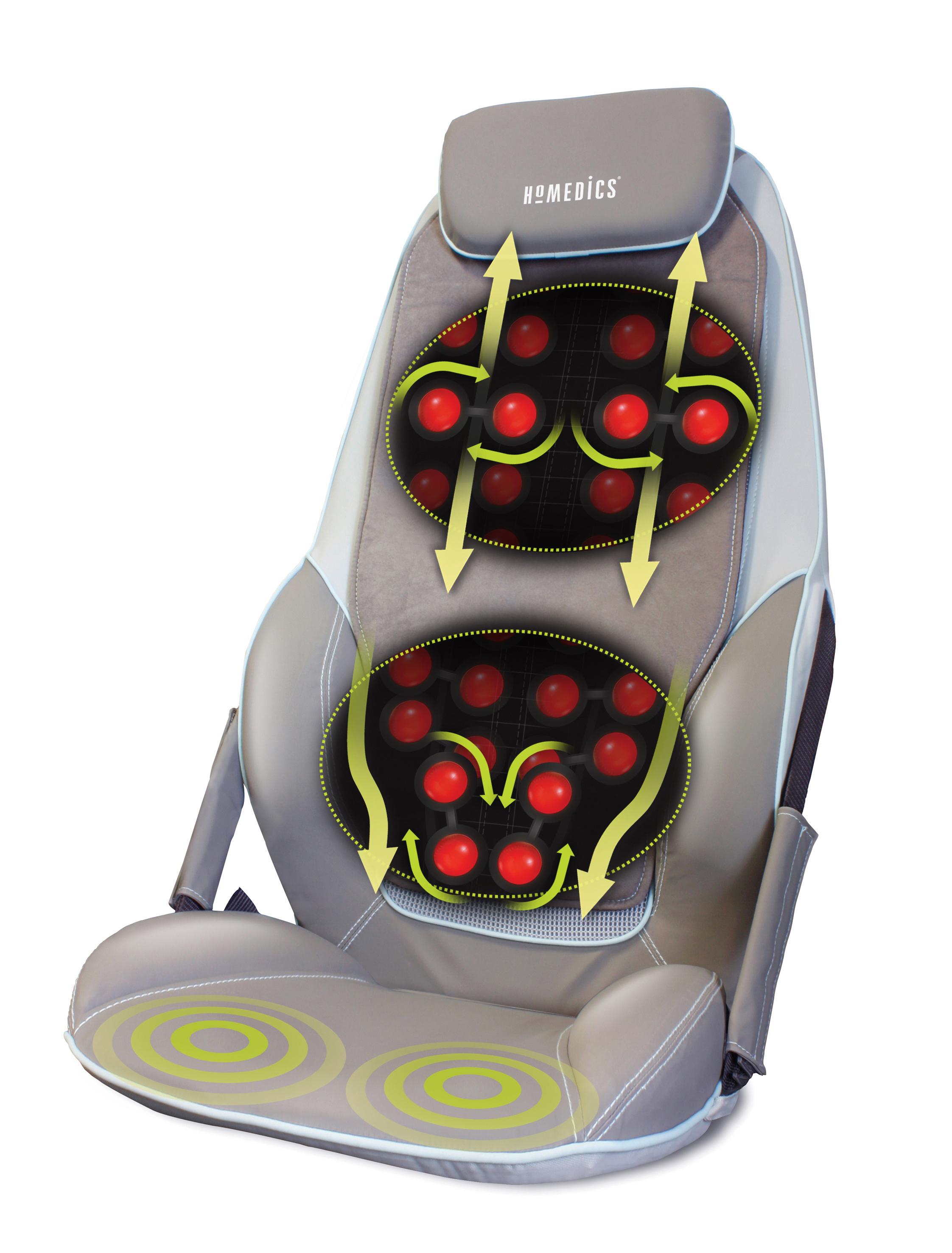 homedics shiatsu max massager back and shoulder massager chair