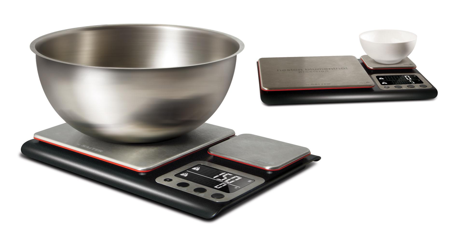 Sentinel Salter 10kg Digital Kitchen Scales Heston Blumenthal Dual Platform Precision New