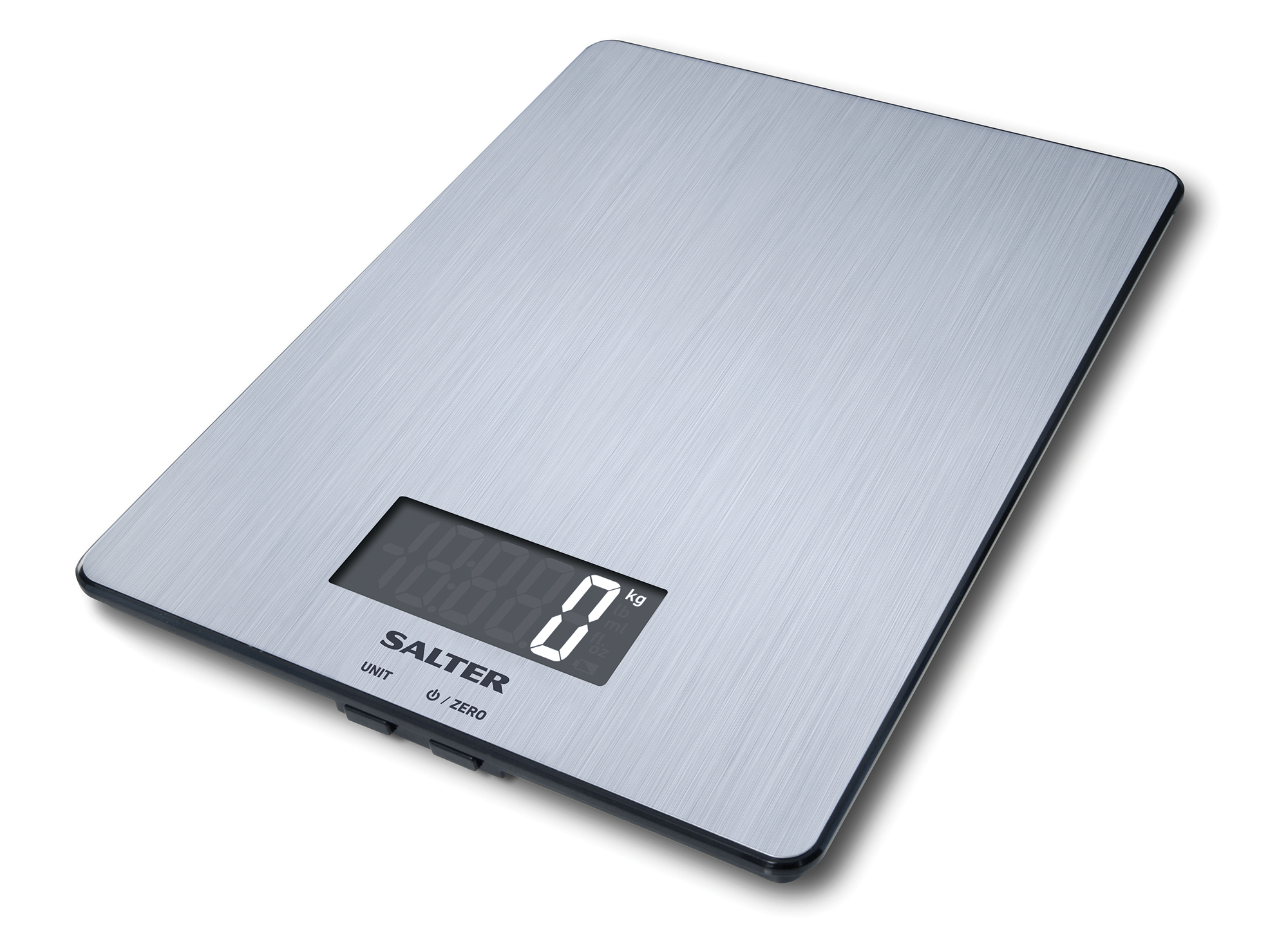 Salter 5kg Slimline Electronic Digital Kitchen Scales Stainless ...