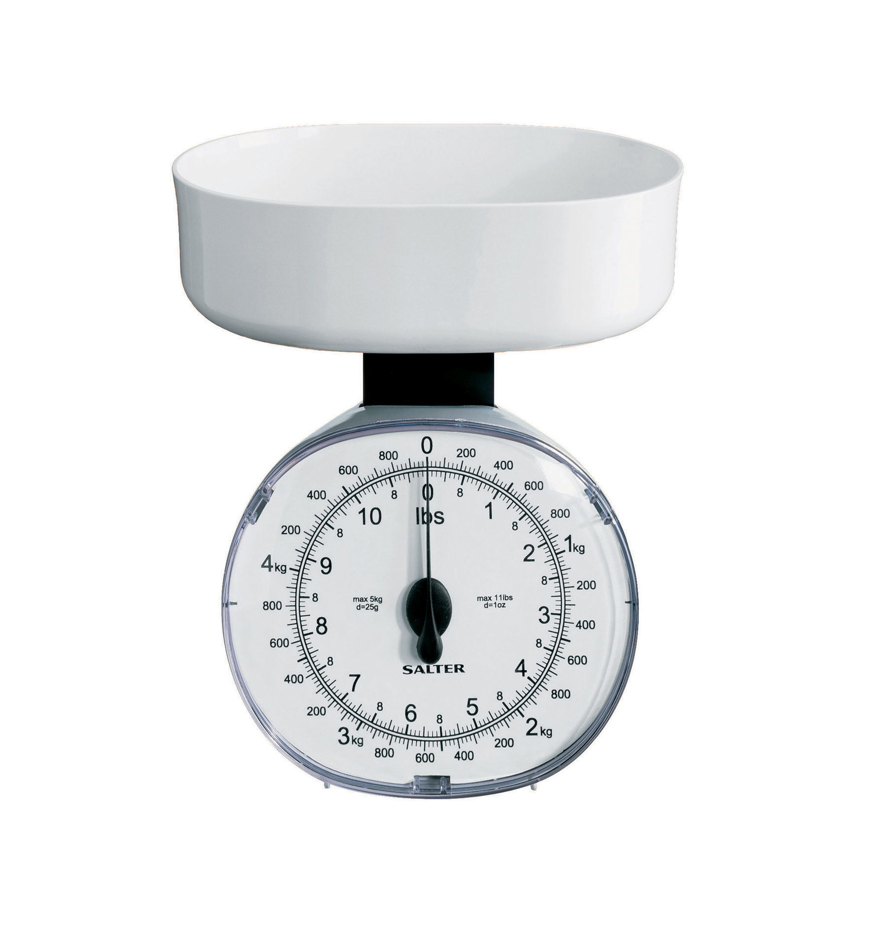 Sentinel Salter Kg Mechanical Kitchen Scale White Imperial Metric  Whdr New