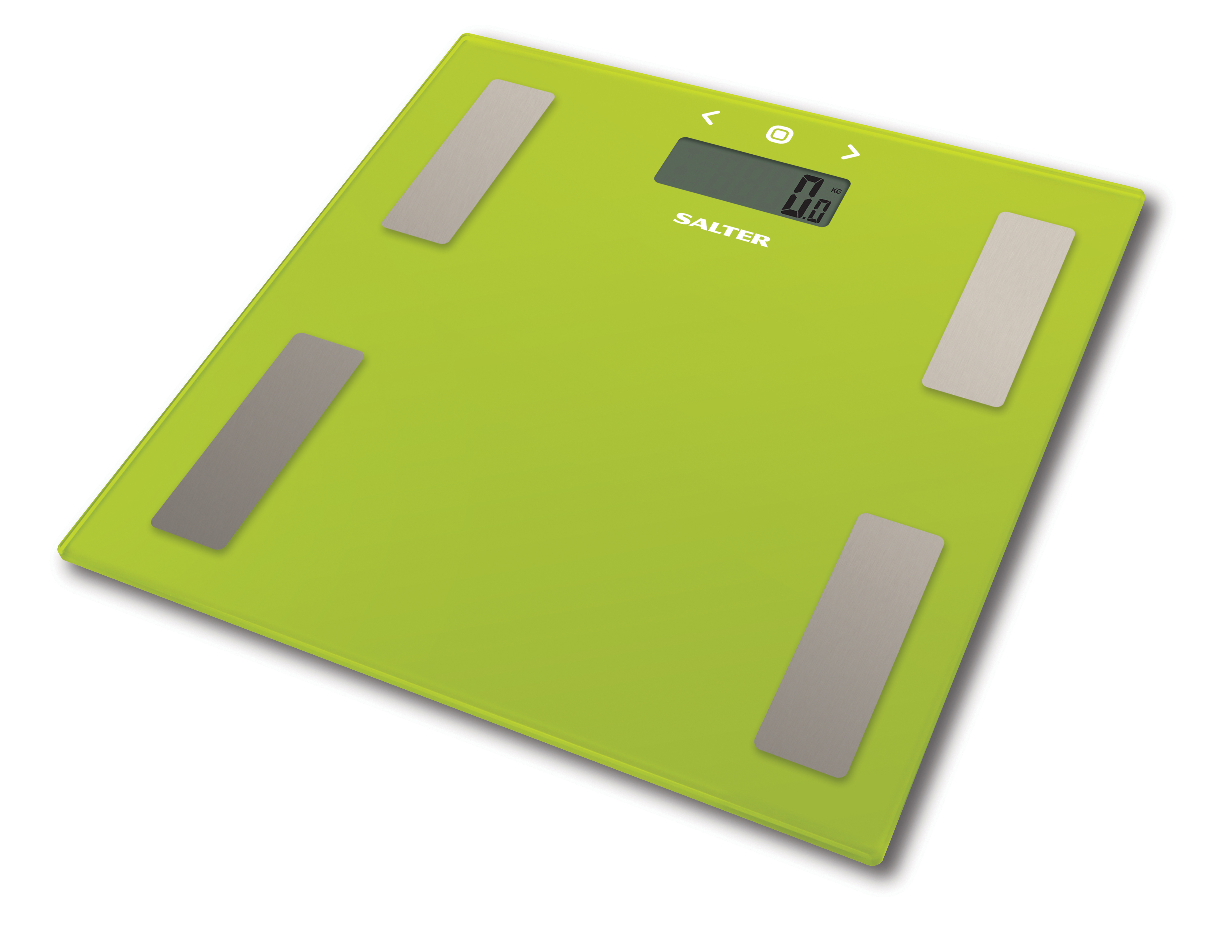 Salter Body Fat Scale Ultra Slim Glass Electronic Digital Bathroom