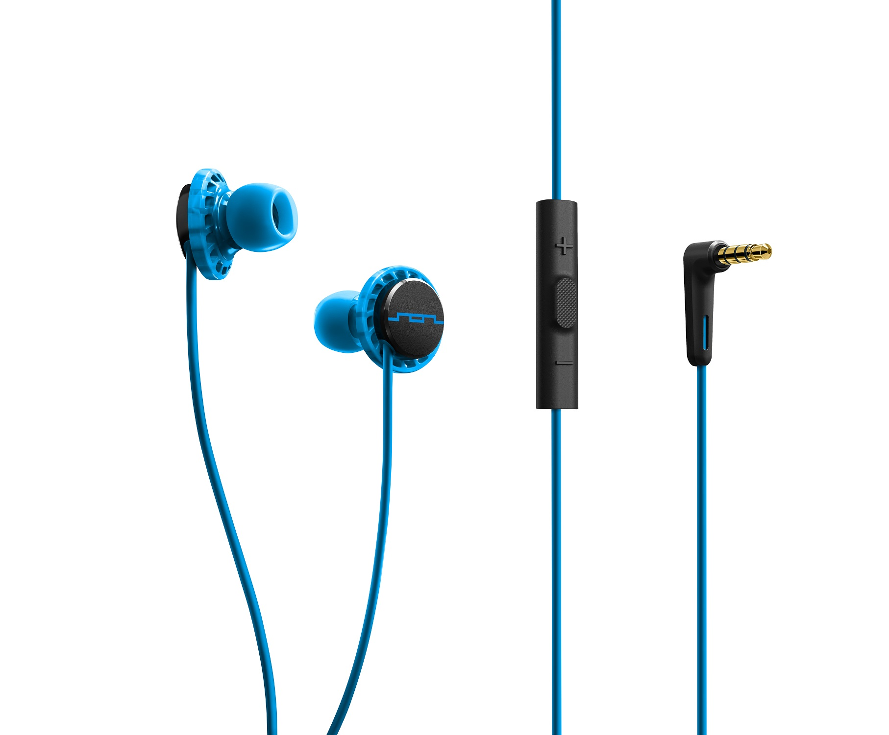 Sol Republic RELAYS SPORT In-Ear Headphone Earbuds with Mic   Music Control  Blue beaa5d592eb6