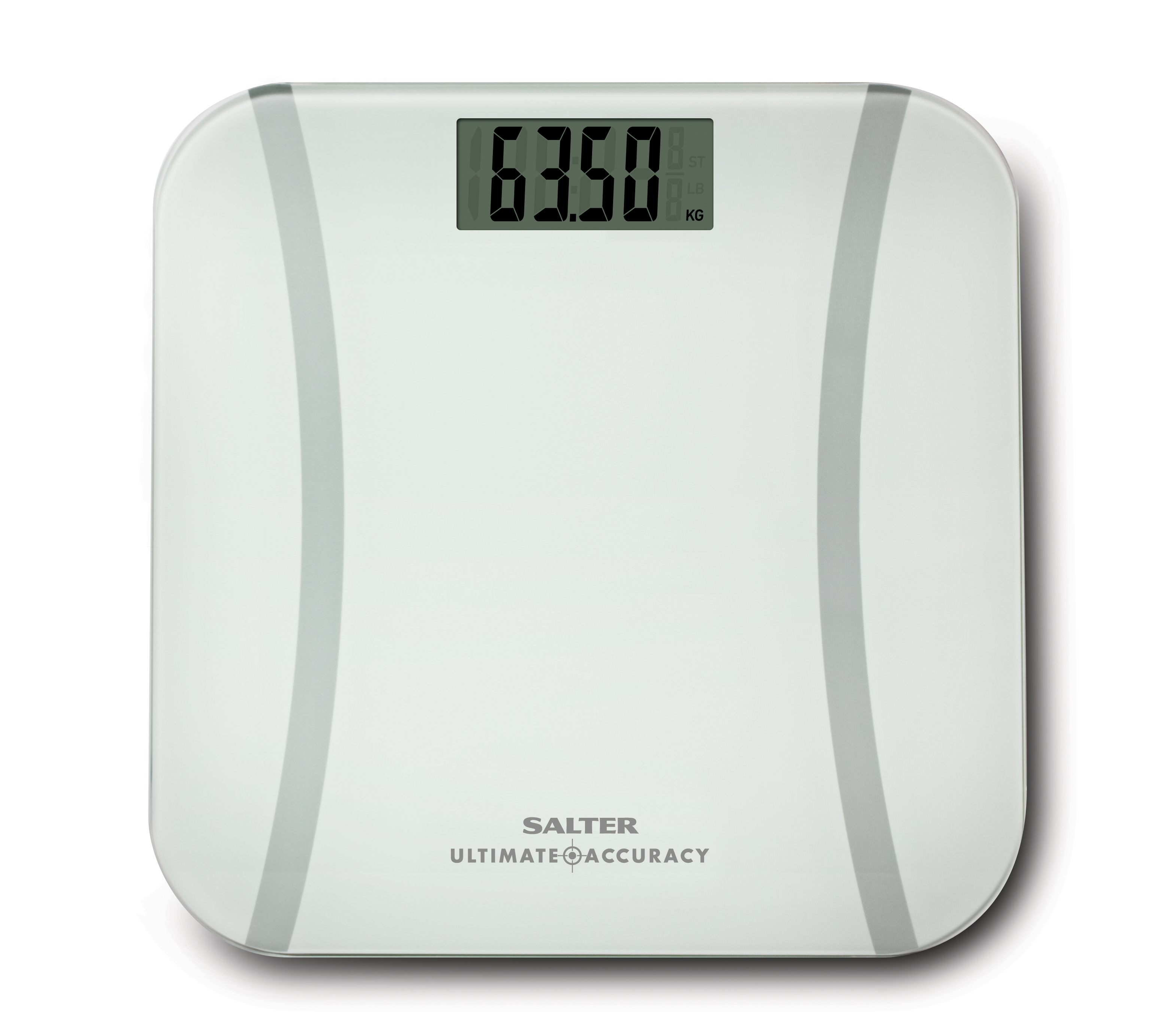 Salter Ultimate Accuracy Digital Bathroom Scales - White ...