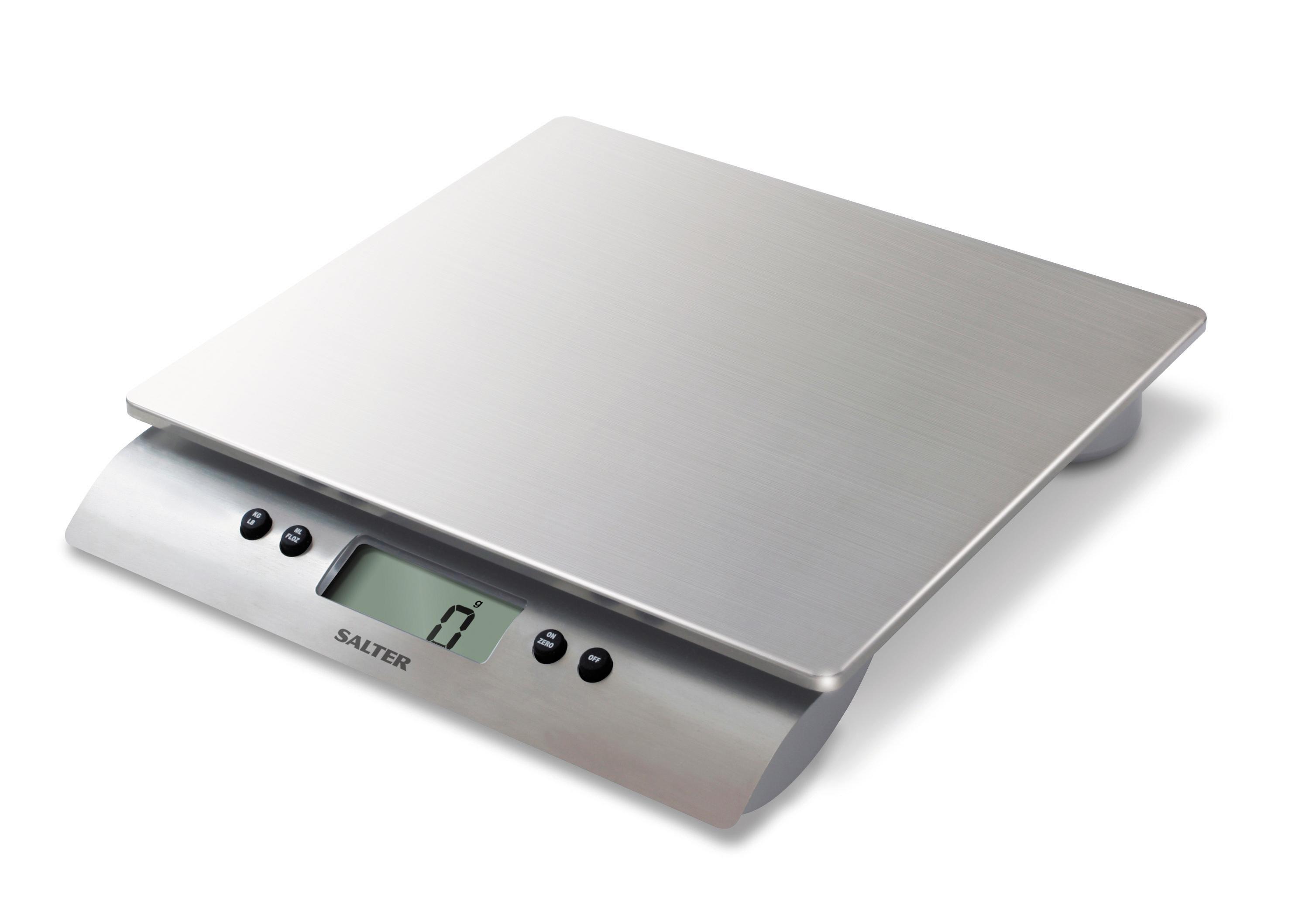 Salter Premium Stainless Steel Kitchen Scales - Digital ...