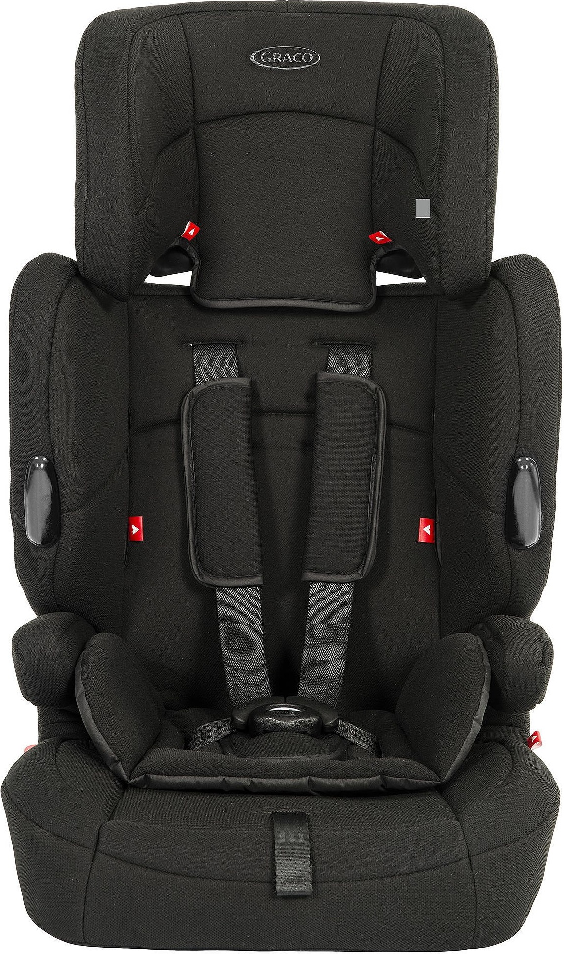 3459959b66ee Details about Graco Endure Group 1-2-3 High Back Booster Car Seat with  Harness - Black A